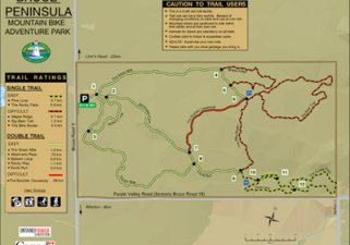 Bruce Peninsula Mountain Biking Adventure Park