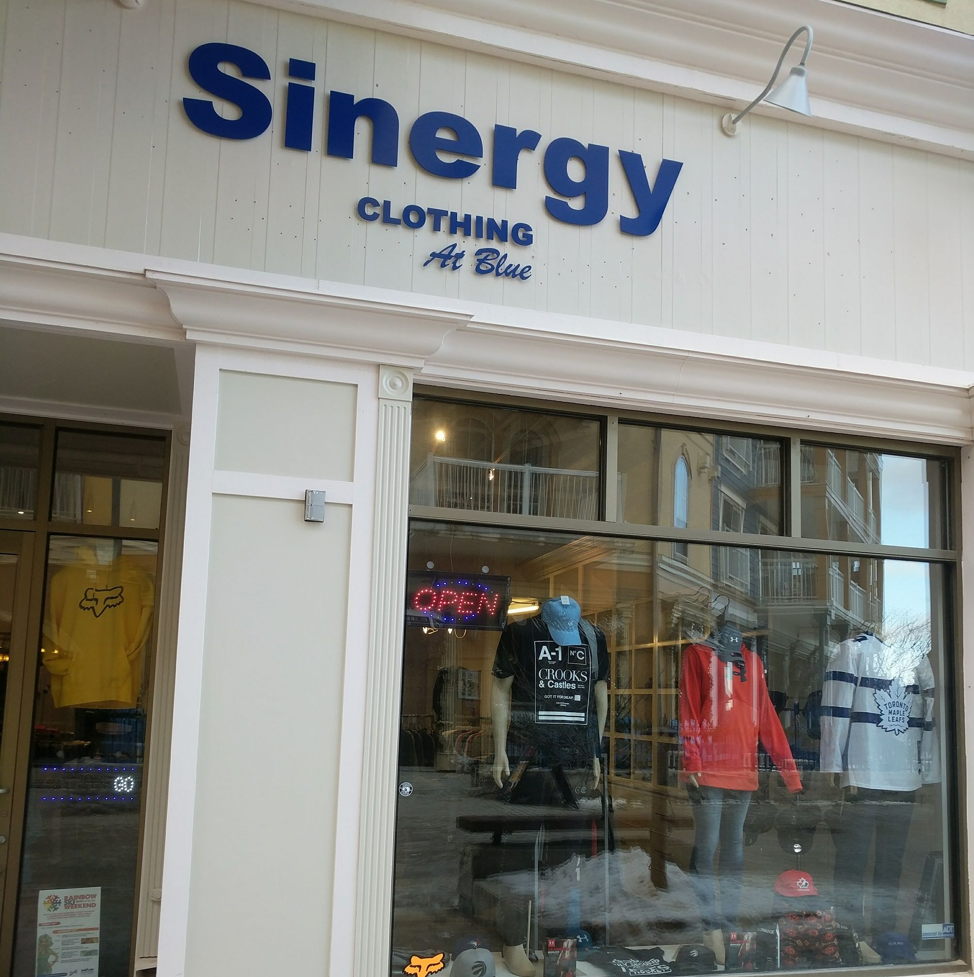 Sinergy Clothing at Blue