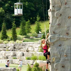 The Rock Climbing Wall