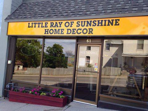 Little Ray of Sunshine Home Decor