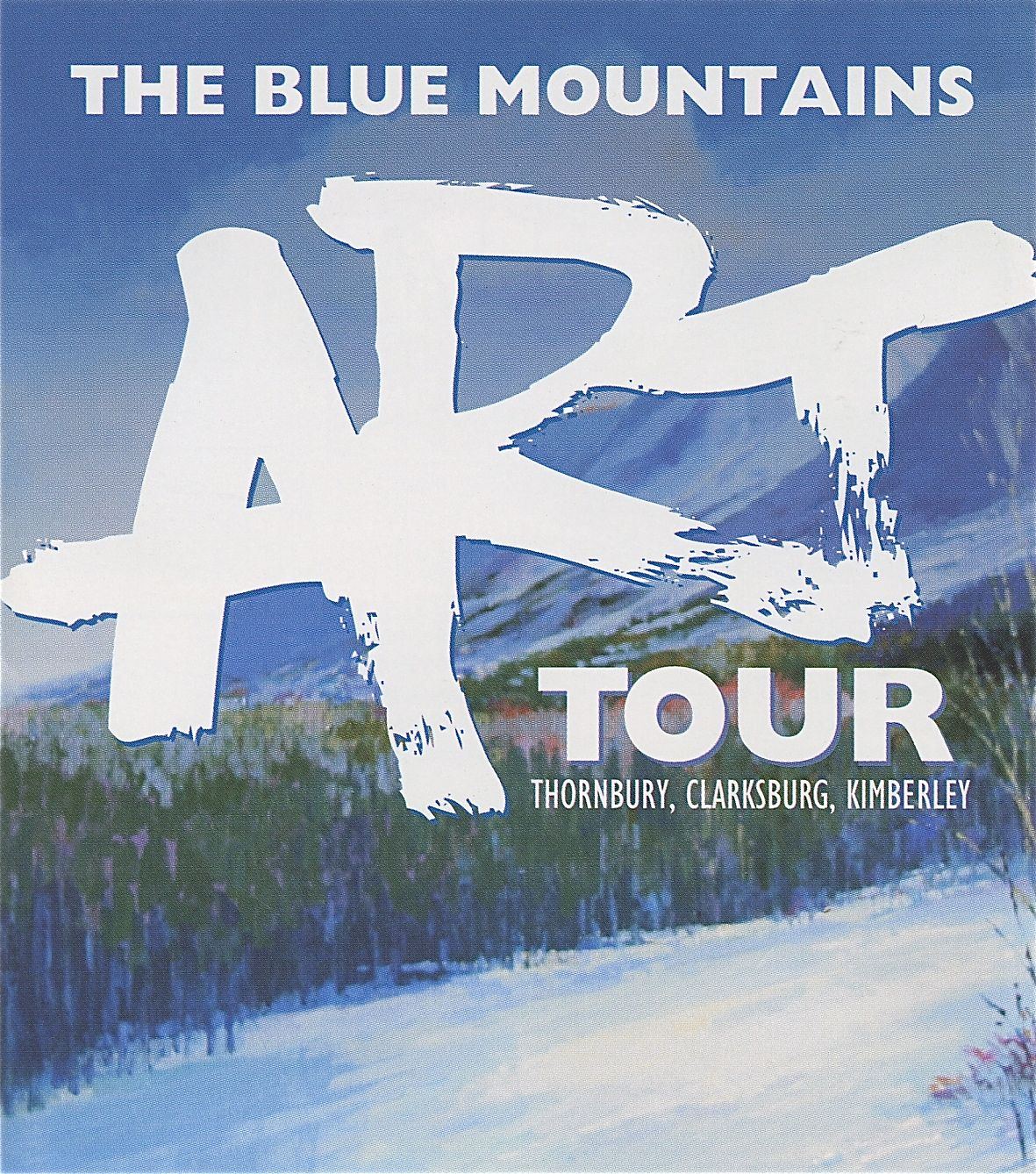 Blue Mountain Studio Tours of the Arts