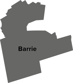 Barrie map