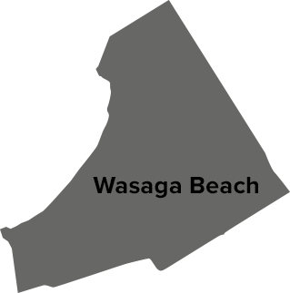 Wasaga Beach map