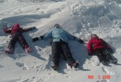 Snow Angels on the Moon?