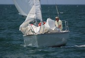 Sailing the waters of Lake Huron