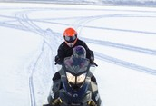 The best snowmobiling in Ontario! Family Day ride