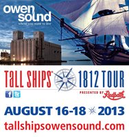 Tall Ships Owen Sound - 1812 Great Lakes Festival