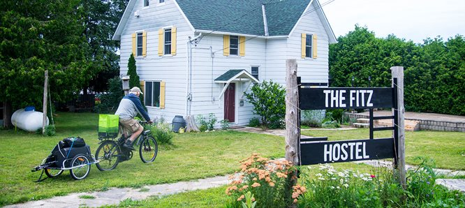 The Fitz Hostel The first and only hostel on the Bruce Peninsula